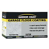 Armor Coat Epoxy Garage Floor Coating, Semi-Gloss Grey