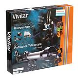 Vivitar Refractor Telescope and Microscope...