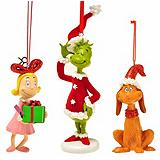 Grinch Ornaments, Assorted