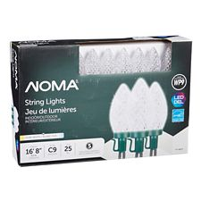 noma 25 outdoor c9 led christmas lights assorted canadian tire