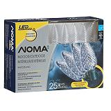NOMA 25 Outdoor C9 LED Christmas Lights, Icy Cool White