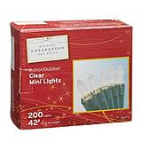Emerald 200-Mini Indoor Incandescent Christmas Lights