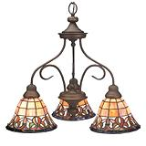 Sedgewick Tiffany 3-light Chandelier