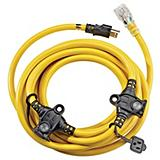 25-ft. 12/3 Multi-Outlet Extension Cord