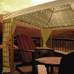 Canadian tire gazebo net lights melbourne collection for Abri mural gazebo