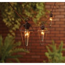 CANVAS Brooklyn Outdoor String Lights