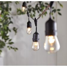 Canvas Montmarte Heavy Duty Outdoor String Lights