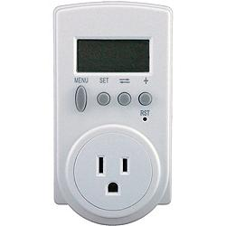 noma block heater timer with 2 outlets manual