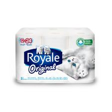 Royale Double Toilet Paper 2 Ply 12 Roll