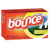 Bounce Fabric Softener Sheets, 180-Ct