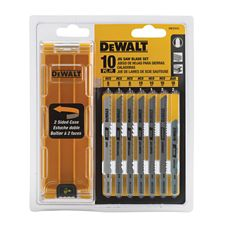 Dewalt 10 pc shank jigsaw blade set canadian tire greentooth Choice Image