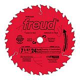 Freud 7-1/4-in Carbide Tipped Circular Saw Blade