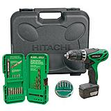Hitachi 12V Peak HXP Lithium Ion Driver Drill Set