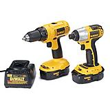 DeWALT 18V Drill/Driver and Impact Driver Combo Kit