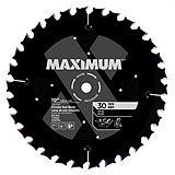 MAXIMUM 30T Ripping Circular Saw Blade, 10-in
