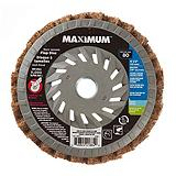 MAXIMUM Surface Condition Polish Finish Flap Disc, 4-1/2-in