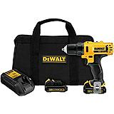 DeWALT 12V Compact Lithium-Ion Drill/Driver, 3/8-in