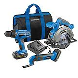 Mastercraft 20V Max Li-Ion 3-Tool Cordless Combo Kit