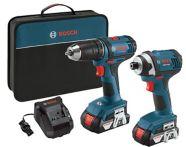 Bosch 18V Li-Ion Drill Driver and Impact Driver Combo Kit