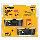 DeWALT 18V Battery, 2-pk