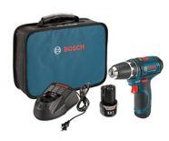 Bosch 12V Max Li-Ion Cordless Drill Driver, 3/8-in