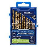 Mastercraft 13-piece Titanium Drill Bit Set