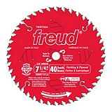 Freud 40T Circular Saw Blade, 7.24-in
