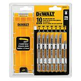 Jigsaw Blade Set, 10-Pc
