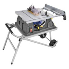 Mastercraft maximum 15a table saw with stand 10 in canadian tire greentooth