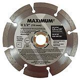 MAXIMUM Segmented Rim Blade, 4.5-in