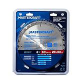 Mastercraft 10-in. Carbide tipped Circular Saw Blades, 2-in