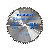 Mastercraft Carbide Tipped Circular Saw Blade, 10-in 60 Tooth