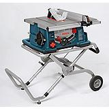 Bosch 15A Table Saw with Stand, 10-in