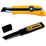 OLFA 18mm Heavy Duty Utility Knife with 10...