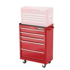 Mastercraft 5 Drawer Cabinet Deep Red 24 In Canadian Tire