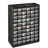 Mastercraft 60-Drawer Plastic Parts Cabinet