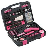 Apollo 135-Piece Pink Tool Kit