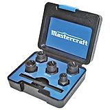 Mastercraft 6-pc Bolt-Out Damaged Bolt/Nut Remover Set