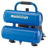 Mastercraft 2 Gallon Twin Stack Air Compressor