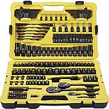 Stanley 183 Piece Black Chrome Socket Set