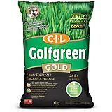CIL Golfgreen Gold Lawn Fertilizer 26-0-6,...