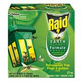 Raid Earth Blends, Disposable Yellow Jacket Trap
