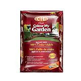 CIL Colour My Garden Cedar Mulch, Sunset Red