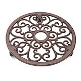 Wrought-Iron Planter Caddy