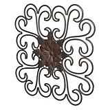 Metal Outdoor Wall Plaque