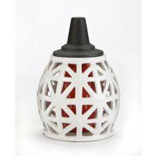 Lampe de table chasse moustiques tiki en cage d 39 oiseau for Table exterieur canadian tire