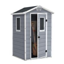 keter manor shed with windows 4 x 3 ft canadian tire On cabanon canadian tire