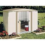 Metal Garden Shed, 8 x 6-ft