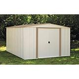 Metal Garden Shed, 10 x 12-ft
