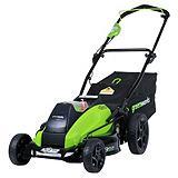 Greenworks 40V Lithium Brushless Cordless Lawn Mower, 19-in